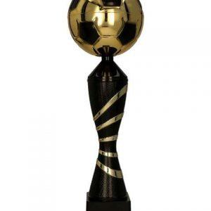Pohár futbal zlato-čierny GRAFI BK
