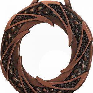 Medaila sklenená - bronz, 80mm