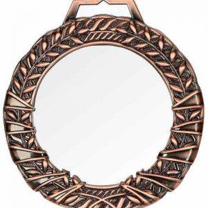 Medaila sklenená s puzdrom - bronz, 90mm