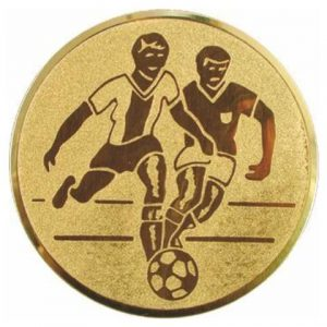 Emblém zlatý - FUTBAL, 25mm