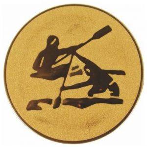 Emblém zlatý - kanoistika, 25mm