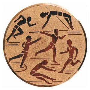 Emblém bronz - ľahká atletika, 25mm
