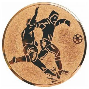 Emblém bronz - FUTBAL, 25mm