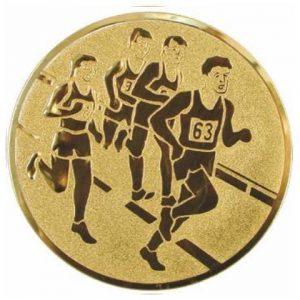 Emblém zlatý - maratón, 25mm