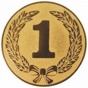 Emblém zlatý - 1. miesto, 25mm