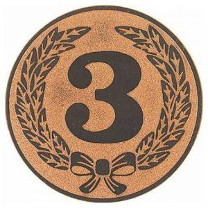Emblém bronz - 3. miesto, 50mm