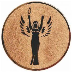 Emblém bronz, Victory, 50mm