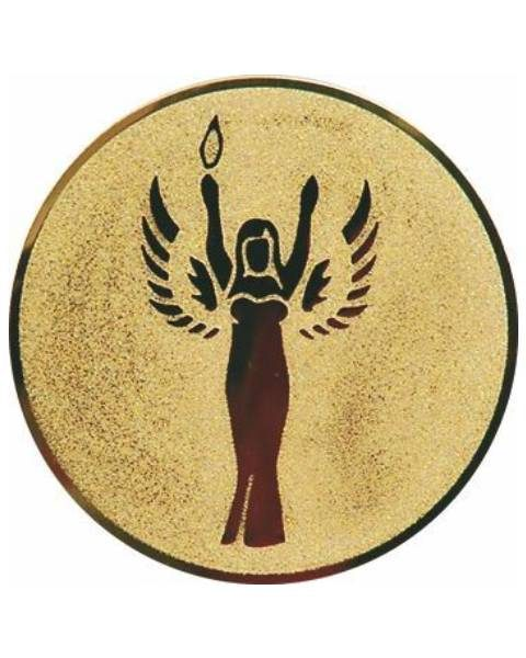 Emblém zlatý - Victory, 50mm