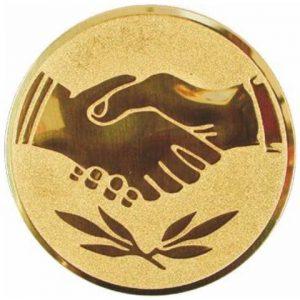 Emblém zlatý - Fair play, 25mm