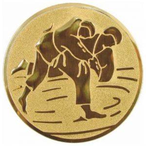 Emblém zlatý - džudo, 50mm