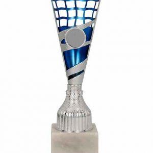 Pohár strieborno-modrý TARIS BL