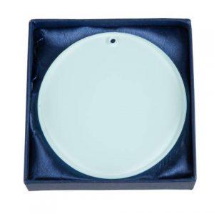 Medaila sklenená - obdĺžnik (60x75mm, hrana 6mm)