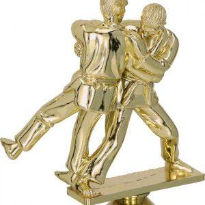 Figúrka plast. judo zlatá, výška 15cm