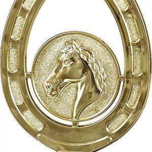 Figúrka plast. kôň podkova, výška 12cm