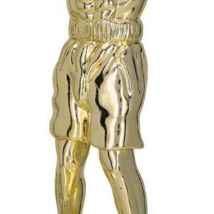 Figúrka plast. box zlatá, výška 16cm