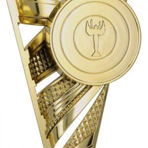 Figúrka plastová všeobecná zlatá, výška 20 cm