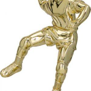 Figúrka plast. hádzaná zlatá, výška 14cm