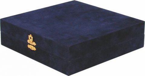 Obal na tanier - modrý