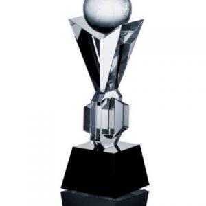 Sklenená trofej 35cm + obal
