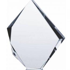 Sklenená trofej 19,5cm + obal